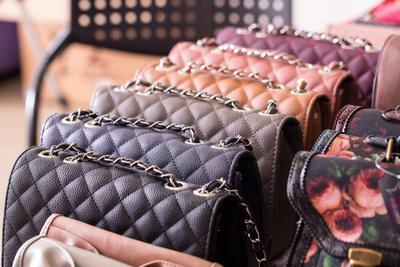 Designer brands resale. Luxury fashion goods and designer bags. Quality designer products. Clutch bags.